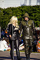 MCM London 2014 - Black Canary & Green Arrow (14266973001).jpg