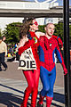 MCM London 2014 - The Flash & Spider-Man (14270367835).jpg