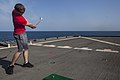 MEU Marines golf during steel beach aboard Gunston Hall 140921-M-HZ646-181.jpg
