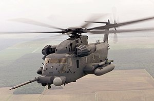 Sikorsky MH-53 - A MH-53 Pave Low from the 20th Special Operations Squadron at Hurlburt Field, Florida