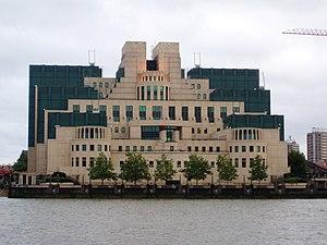 Richard Tomlinson - MI6 headquarters at Vauxhall Cross, London