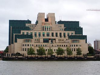 Richard Tomlinson - MI6 headquarters at Vauxhall Cross, London