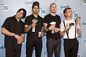 Billy Talent - Image: MMVA2007 Billy Talent