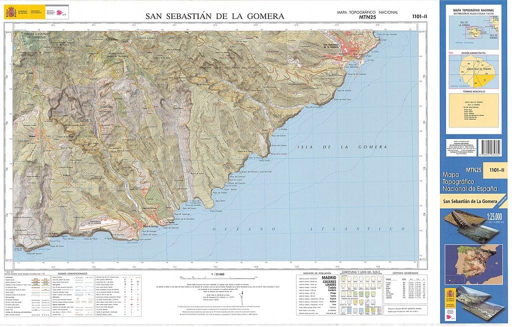 San Sebastian España Mapa.File Mtn25 1101c2 2014 San Sebastian De La Gomera Jpg