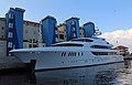 MY Harbour Island Superyacht berthed by The Sails, Queensway Quay Marina, Gibraltar.jpg