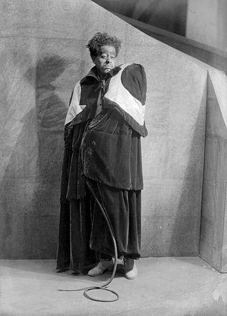 Eric Burroughs - Burroughs as Hecate in the Voodoo Macbeth (April 14, 1936)