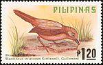Macronus striaticeps 1979 stamp of the Philippines.jpg