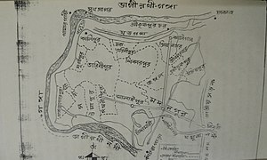 Madanpur, India - Image: Madanpur in a sketch