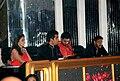 Madhuri Dixit, Karan Johar, Abhishek Bachchan, Ajay Devgn on the sets of 'Jhalak Dikhhlaa Jaa 5'(3).jpg