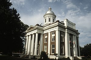 National Register of Historic Places listings in Madison County, Mississippi - Image: Madison County Mississippi Courthouse