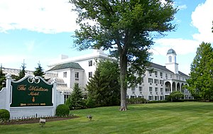 Convent Station, New Jersey - Madison Hotel, in Convent Station