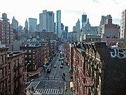 Madison Street-Manhattan looking south