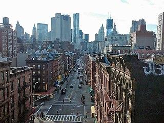 Madison Street (Manhattan) Street in Manhattan, New York