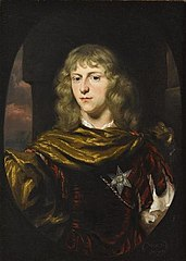 Portrait of an Man wearing the Order of the Garter