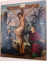 Maestro di ozieri (ambito), cristo in croce, xvi sec.JPG