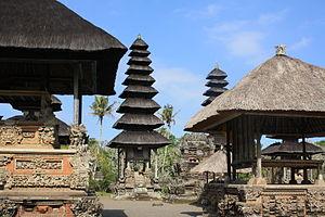 Pura Taman Ayun - Image: Main sanctum, Taman Ayun