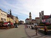 Main square of Banská Bystrica, Slovakia