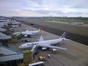 Simón Bolívar International Airport (Venezuela) - View of the apron
