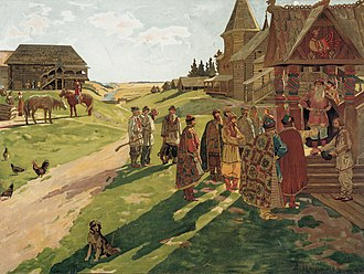 Upper Oka Principalities - Estate of a petty medieval prince