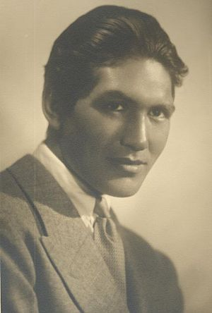 Ray Mala - circa 1933 - photograph by Melbourne Spurr