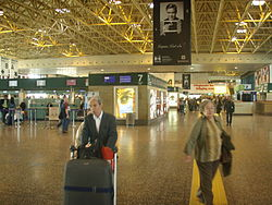 Terminal 1-B at Malpensa International Airport