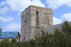 Qawra Tower - Image: Malta St. Paul's Bay Triq it Trunciera Ras il Qawra Qawra Tower 04 ies