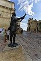 Malta - Valletta - South Street - Statue of Jean de Vallette.jpg