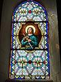 Mametz (Pas-de-Calais, Fr), église de Crecques, vitrail 10.JPG