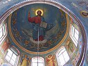Manastirea Hancu ceiling