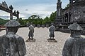 Mandarin soldiers Khai Dinh tomb Hue (38647378655).jpg