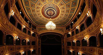 Manoel Theatre, Europe's third-oldest working theatre. Now Malta's National Theatre and home to the Malta Philharmonic Orchestra. Manoel theatre (12851453033).jpg