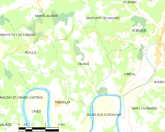 Map commune FR insee code 24318.png