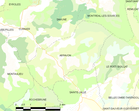 Map commune FR insee code 26013.png