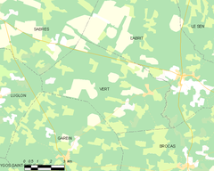 Map commune FR insee code 40323.png