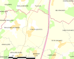 Map commune FR insee code 60160.png
