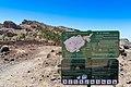 Map of Chavao hiking trail in Teide National Park on Tenerife, Spain (48225445992).jpg
