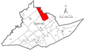 Map of Curtin Township, Centre County, Pennsylvania Highlighted.png
