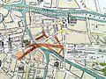 Map of Ghent, Belguum, 1876, Hemelsoet.jpg
