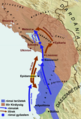 Map of the Third Illyrian War 168 BC (hu).png