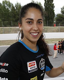 María Herrera Spanish motorcycle racer