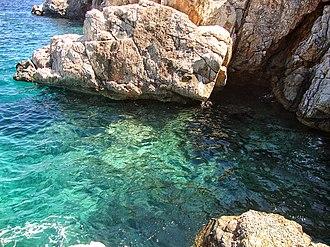 Agistri - Image: Mareza,Angistri island