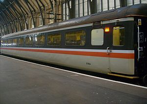 Greater Anglia (train operating company) - Image: Mark II TSO No 5769