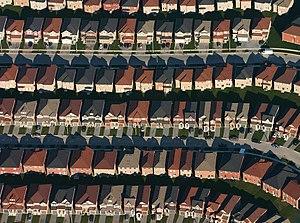 Subdivision (land) - A subdivision in Markham, Ontario