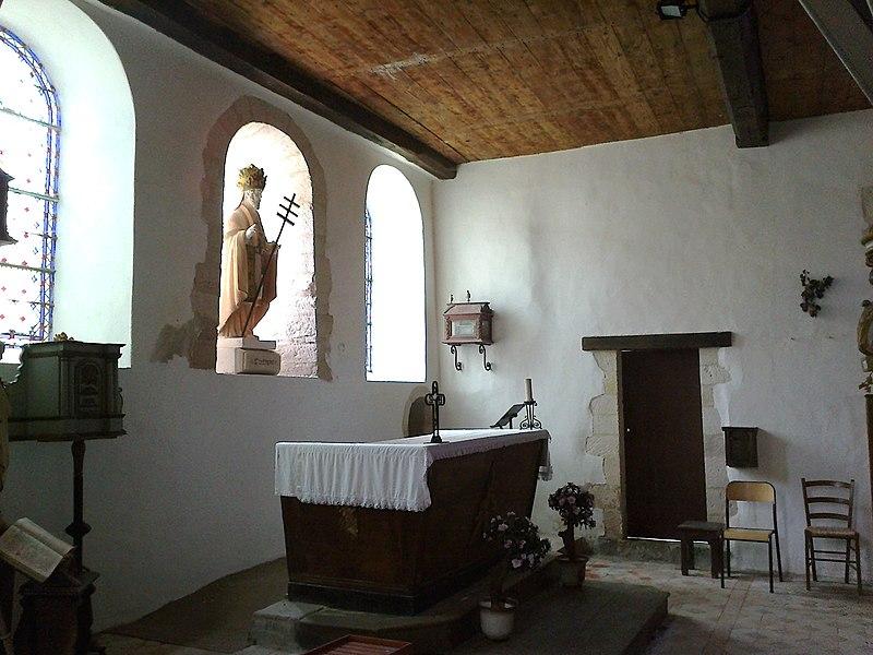 Marne Cormoyeux Eglise Saint-Clement Choeur 22062016