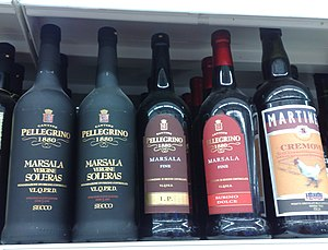 Marsala wine - Different types of Marsala