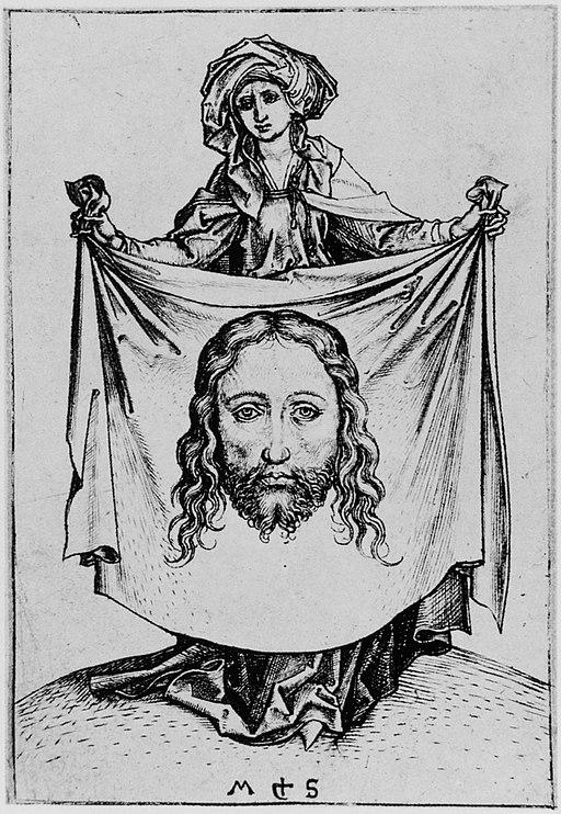 Martin Schongauer - Die heilige Veronika (L 71)