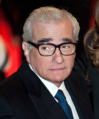 Picture of an author: Martin Scorsese