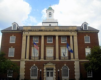 National Register of Historic Places listings in Alexandria, Virginia - Image: Martin V.B. Bostetter, Jr. United States Courthouse