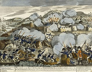Invasion of Martinique (1809) conflict