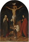 Mary and John at the Cross by Jacob or Jan Pynas Rembrandt House Museum.jpg